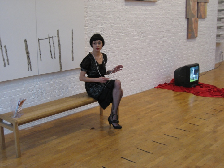 Cow at Modern Art Oxford (2008)